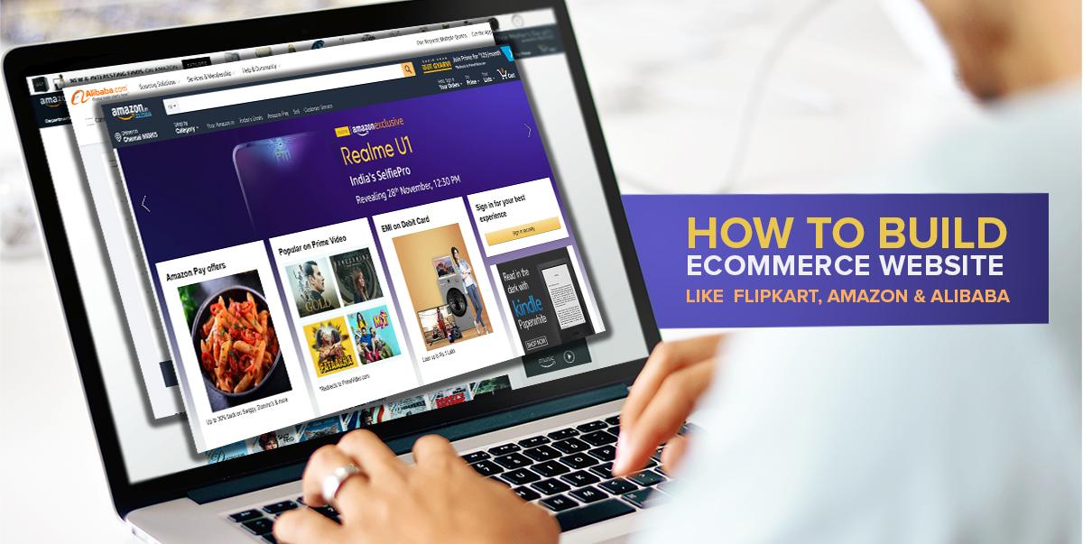 ecommerce website like amazon, flipkart, Alibaba