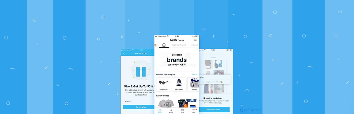 Wish Marketplace App