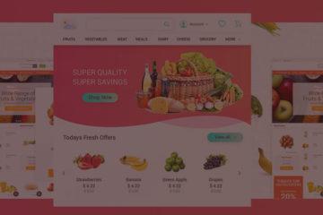 Build Grocery eCommerce Website